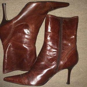 Nine West Ianthero Mid Calf Boots Sz 11